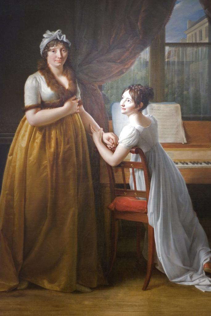 Baron Gerard Piano lesson