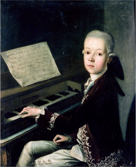 Firmian at the Piano