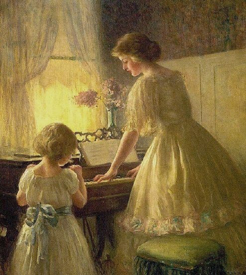 Francis Day Piano Lesson