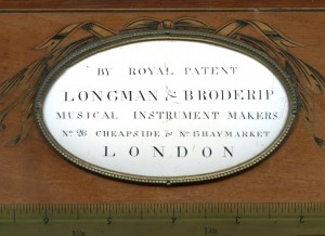 Longman and Broderip 1791